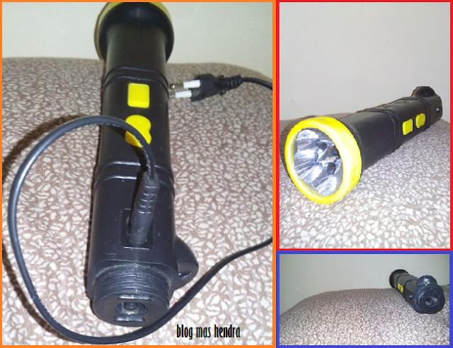 Lampu Senter dari Raket Nyamuk - Blog Mas Hendra