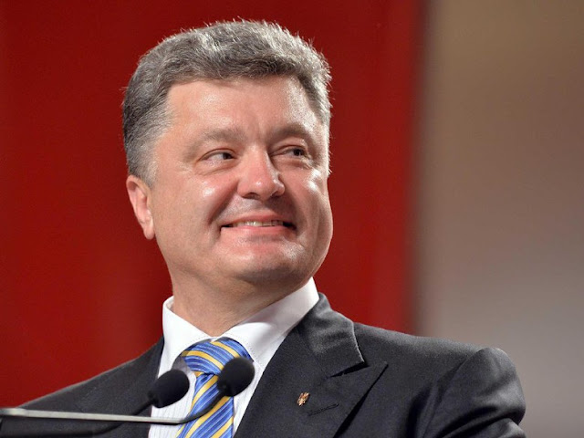 Presiden Ukraina Petro Poroshenko Mengunjungi Candi Borobudur