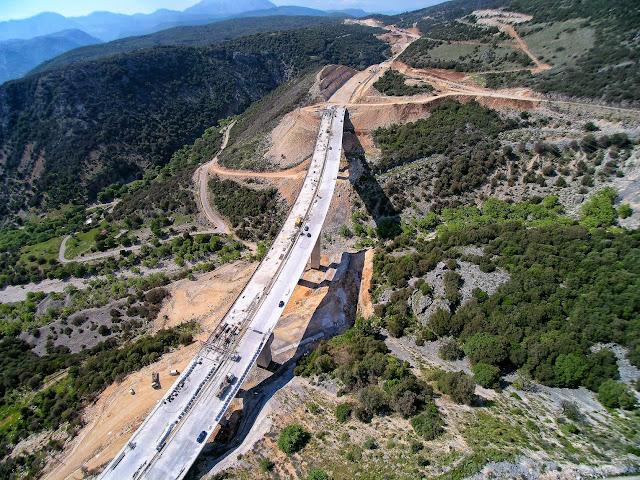 Γιάννενα: Σε δημοπράτηση η σύνδεση της Ιόνιας Οδού με τα Τζουμέρκα.... Από την Αθήνα στα Τζουμέρκα σε περίπου 4 ώρες