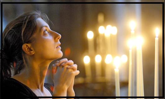Berdoa kristen di kesunyian