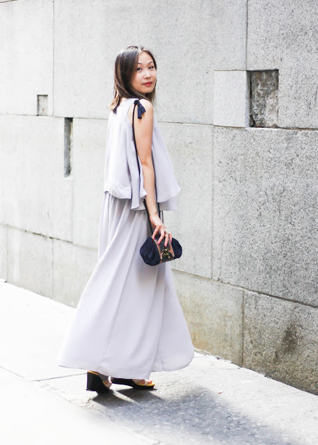 How to Look Sophisticated Monochrome Two-Piece