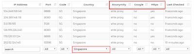 Cara Mencari Proxy Aktif dan Gratis untuk Download di IDM