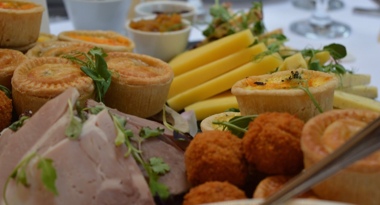 Weddings at The Parlour at Blagdon in Northumberland - Northumberland High Tea Wedding Breakfast