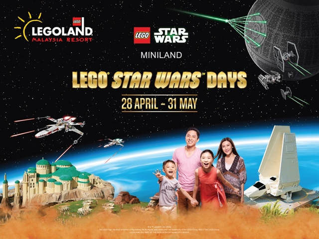 10 Reasons Why You Should Be Part Of LEGOLAND® LEGO® Star Wars™ Days 2017 Galactic Celebration