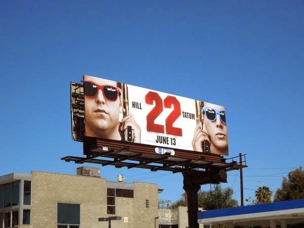 22 Jump Street film billboard