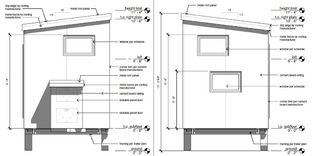 The Z Huis From Wishbone Tiny Homes - plans