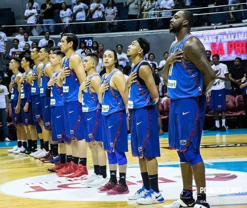 Gilas Pilipinas Schedule for FIBA Asia Cup