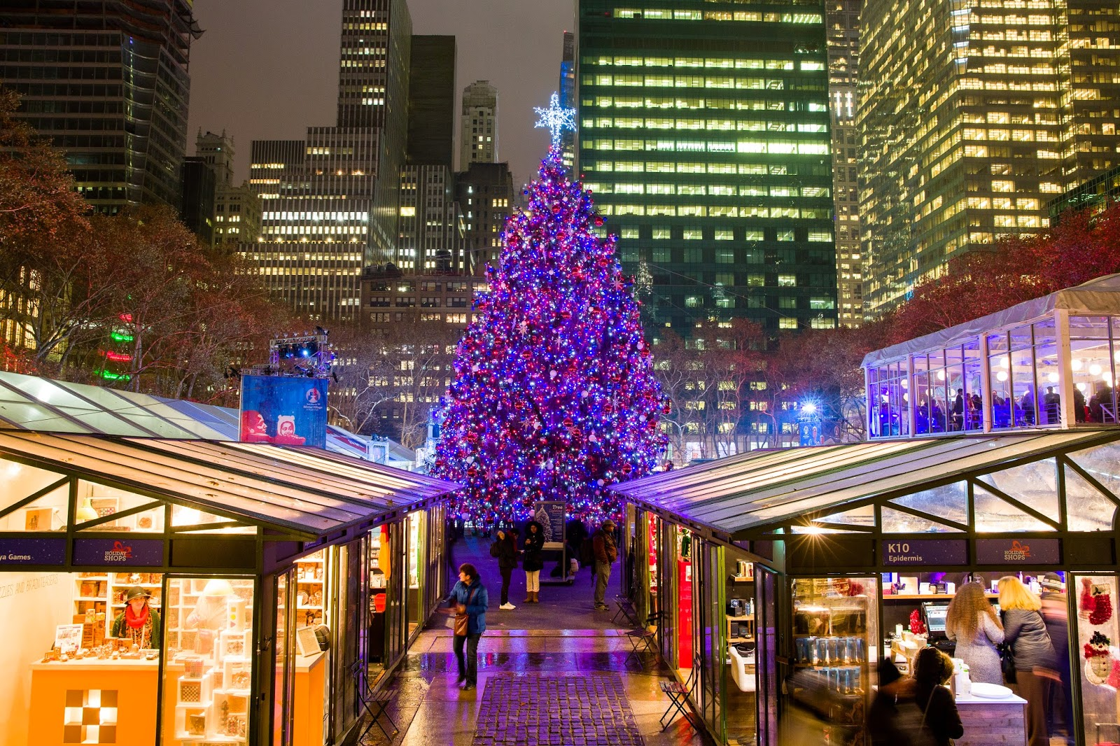 Bryant Park Christmas.Bryant Park Blog Spend Your Christmas And New Year S In The