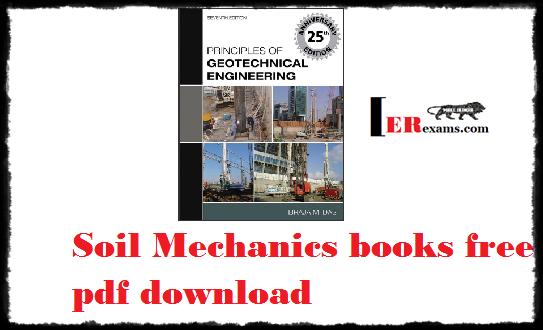 Soil Mechanics books free pdf download