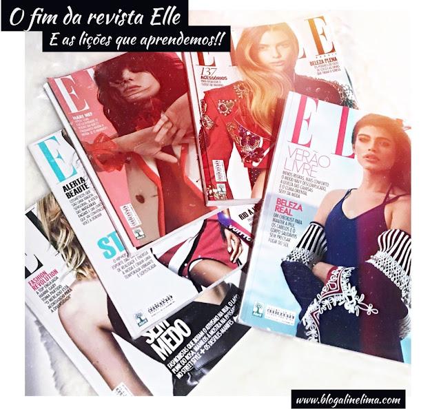 Lições que aprendemos com o fim da revista Elle!