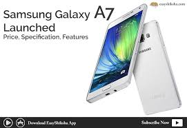 Samsung Galaxy A7 (2018) launched in India, there are three rear cameras and 24 megapixels selfie sensor in it.