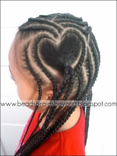 heart cornrows