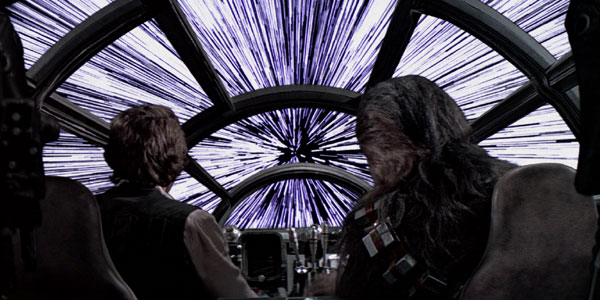 Han Solo e Chewbecca iperguida