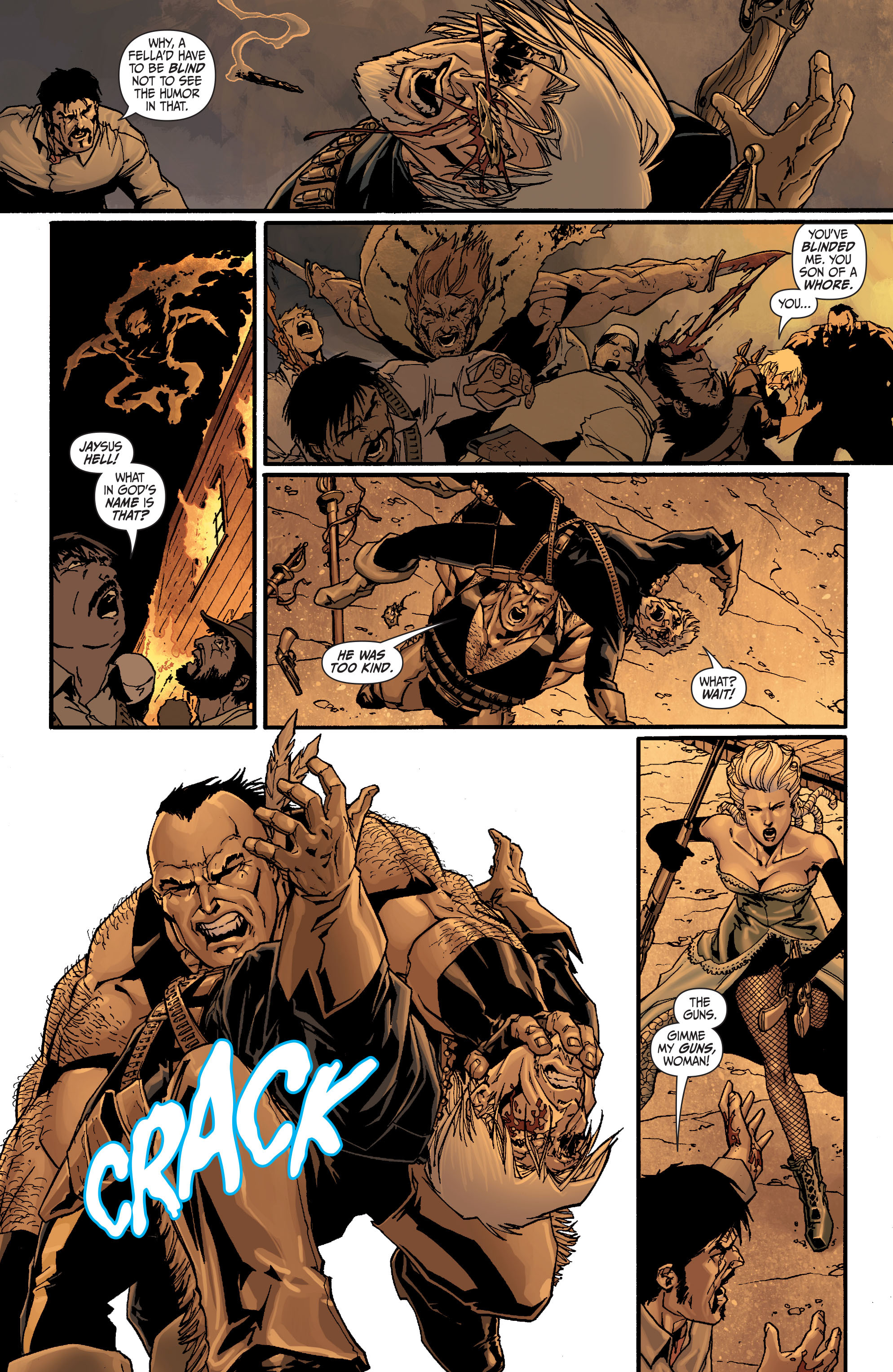 Read online Secret Six (2008) comic -  Issue #24 - 19