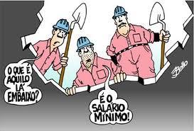 O salário mínimo não é tão mínimo assim…