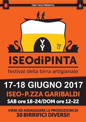 IseodiPinta festival delle Birre Artigianali 17-18 giugno Iseo (BS)