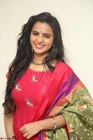 Manasa in Pink Salwar At Fashion Designer Son of Ladies Tailor Press Meet Pics ~  Exclusive 67.JPG