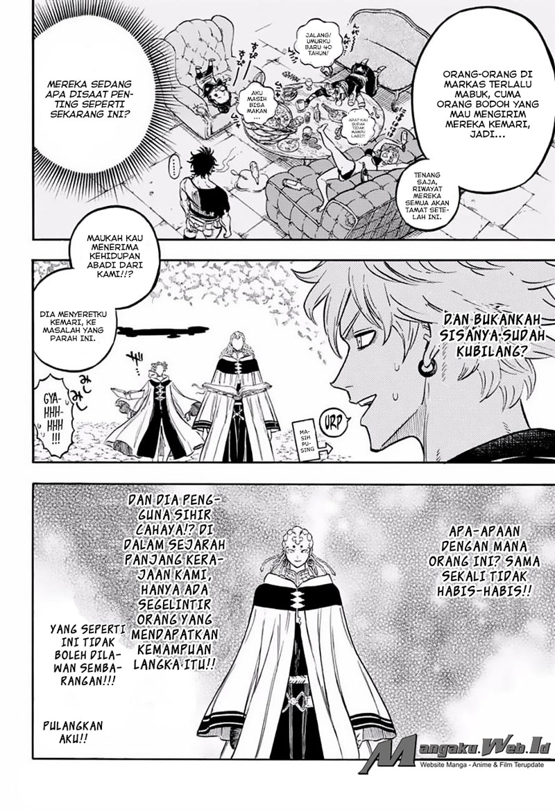 Black Clover Chapter 47 Sihir Cahaya VS Sihir Kegelapan