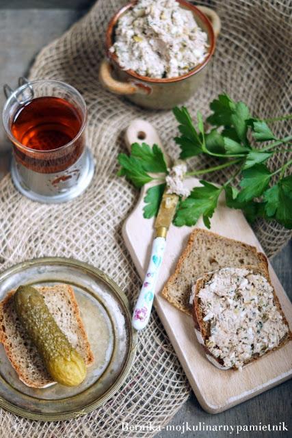 pasta, ryba, tunczyk, pasta z tunczyka, bernika, dieta, kulinarny pamietnik