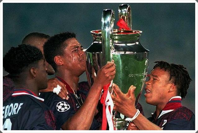 Kluivert Davids Seedorf Ajax 1994-95