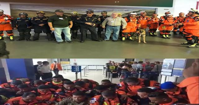 """Rescatistas de Panamá oran por México: """"Danos fortaleza, padre, para ayudar a nuestros hermanos"""""""