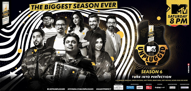 Get plugged onto the Biggest MTV unplugged Season 6