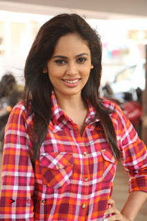Nandita Swetha Latest Stills in Ripped Jeans