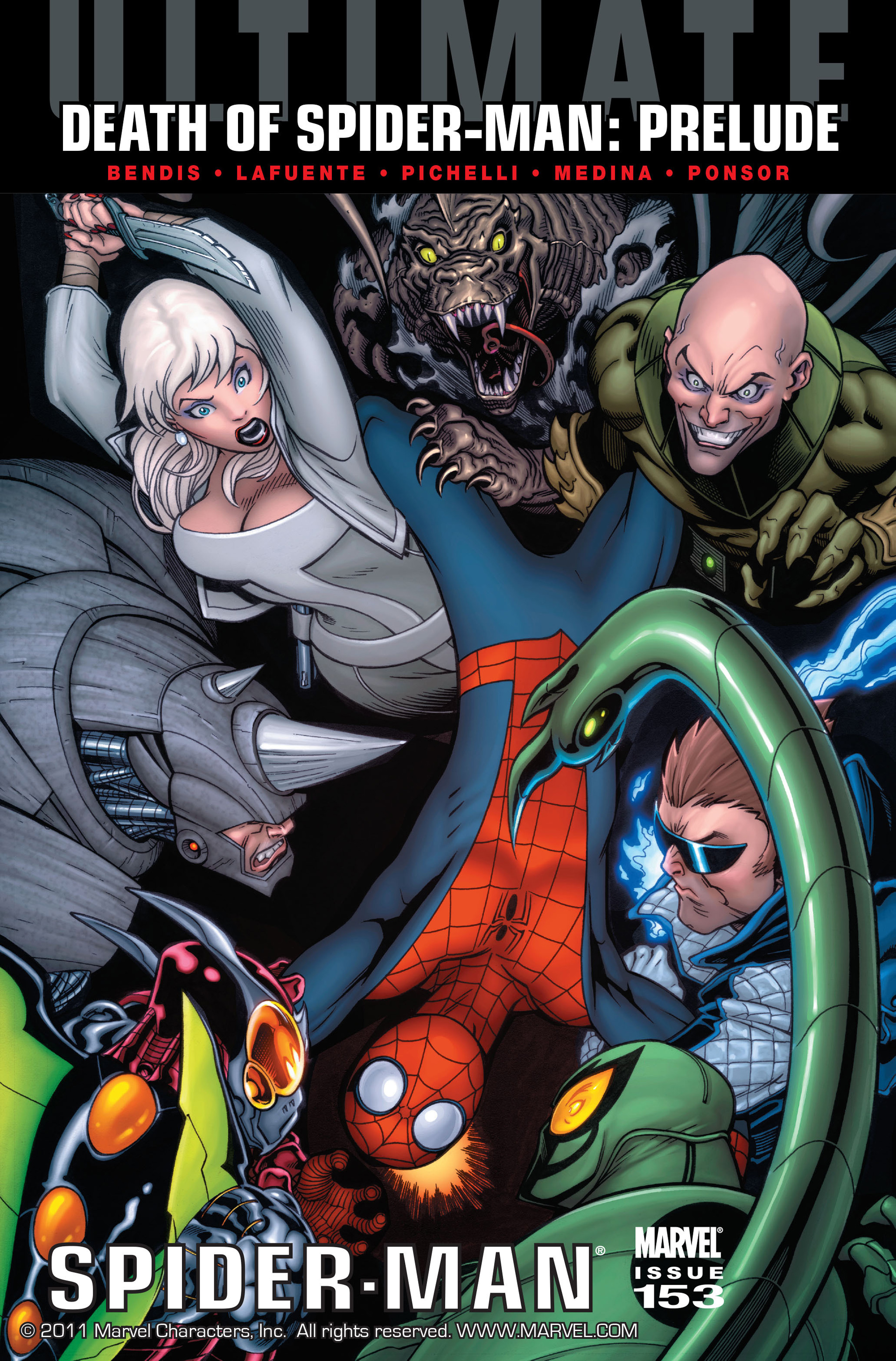 Read online Ultimate Spider-Man (2009) comic -  Issue #153 - 1