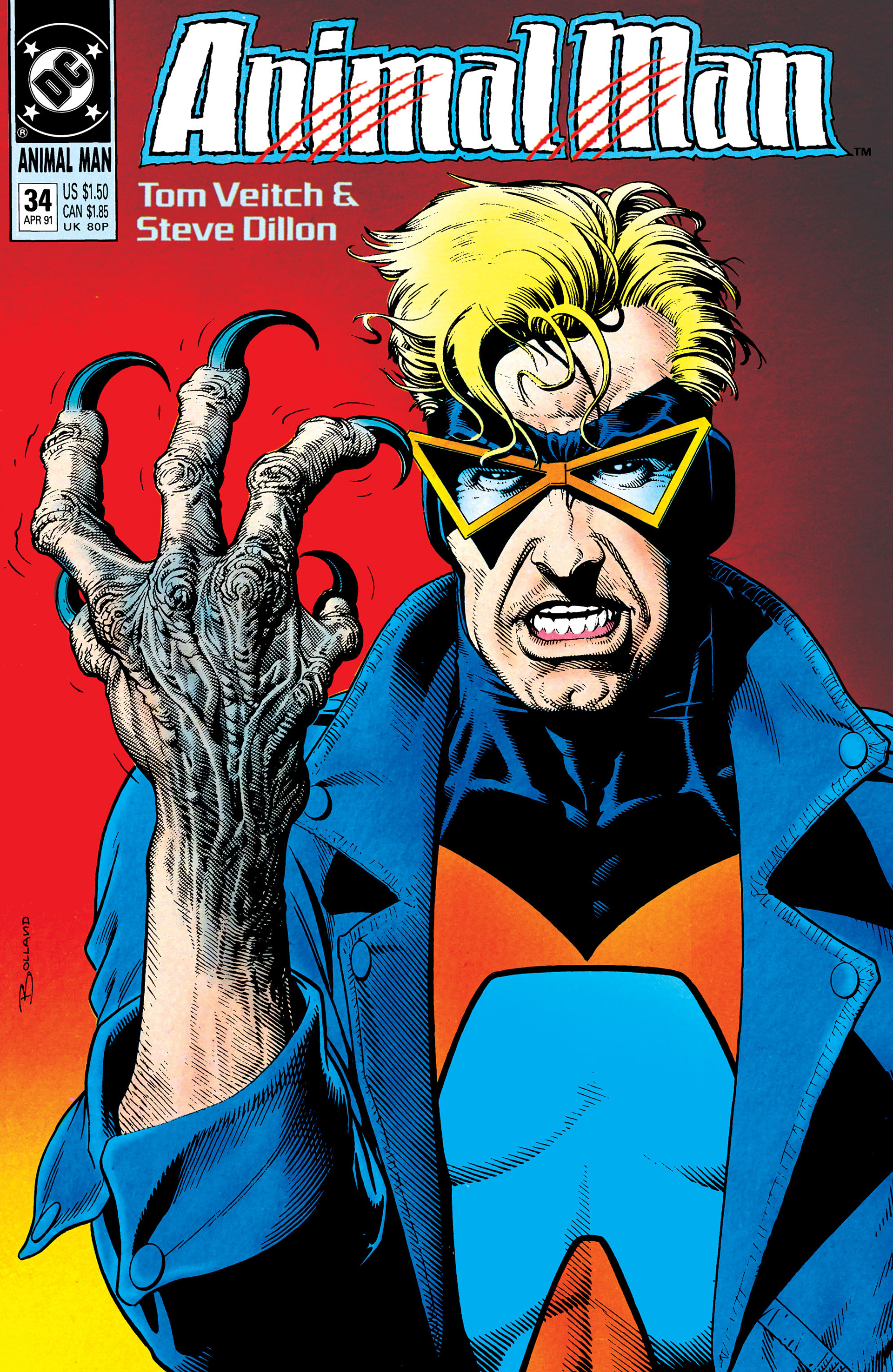 Animal Man issue 34 - Page 1