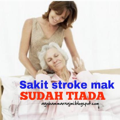 Mak Mertua Kena Stroke Bangun Dari Katil Sendiri Selepas 3 Hari Minum Sirap