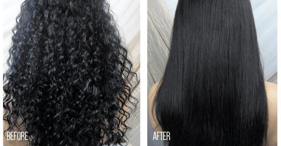 Cara Meluruskan Rambut Keriting Secara Alami