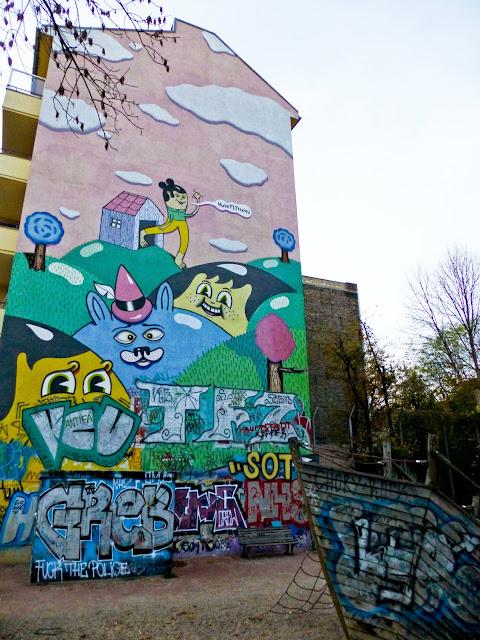 Mural de HuskMitNavn en Treptow