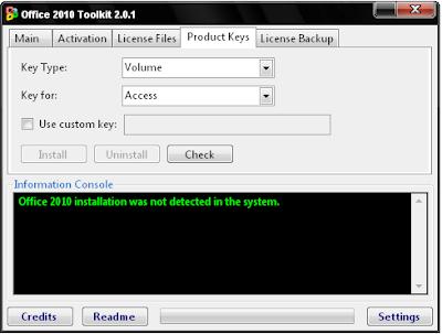 EZ Activator Office 2010 - BAGAS31