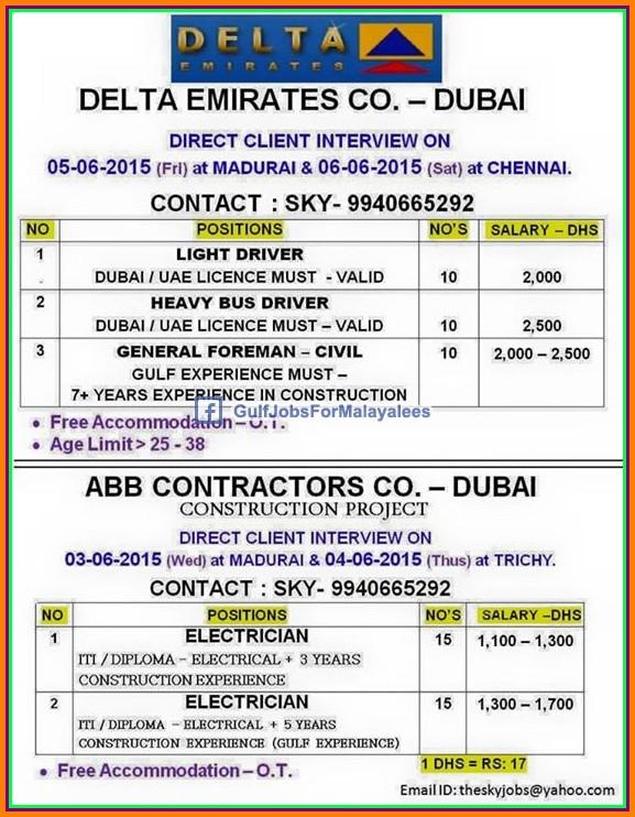 Most Design Ideas Delta Emirates Company Dubai Job Vacancies