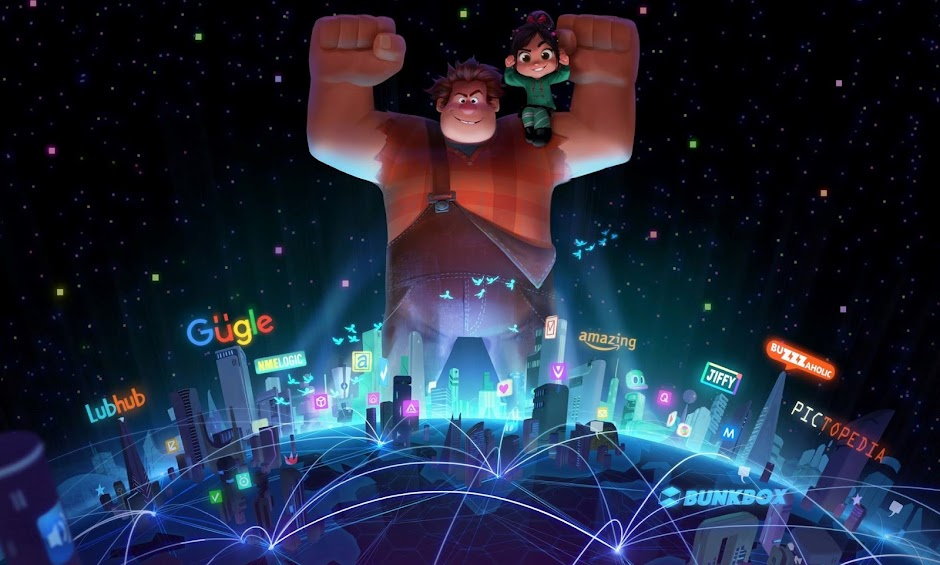 "Ralph quebra a internet no 1º trailer de ""WiFi Ralph"""