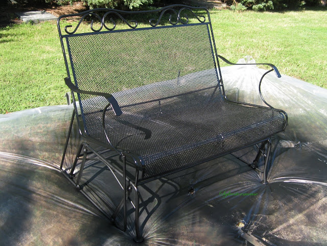Restoring Wrought Iron Metal Outdoor Patio Furniture