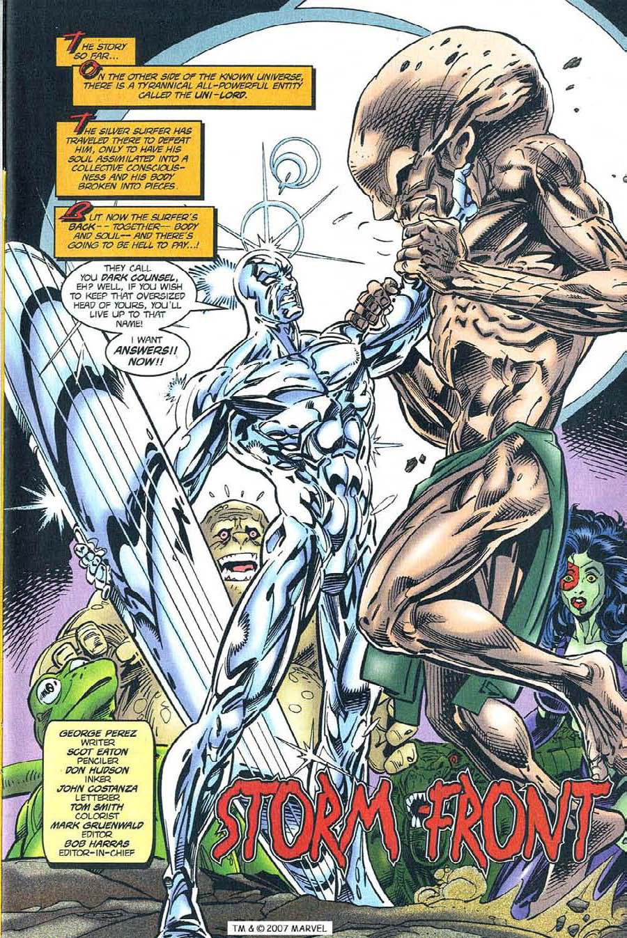 Read online Silver Surfer (1987) comic -  Issue #119 - 3