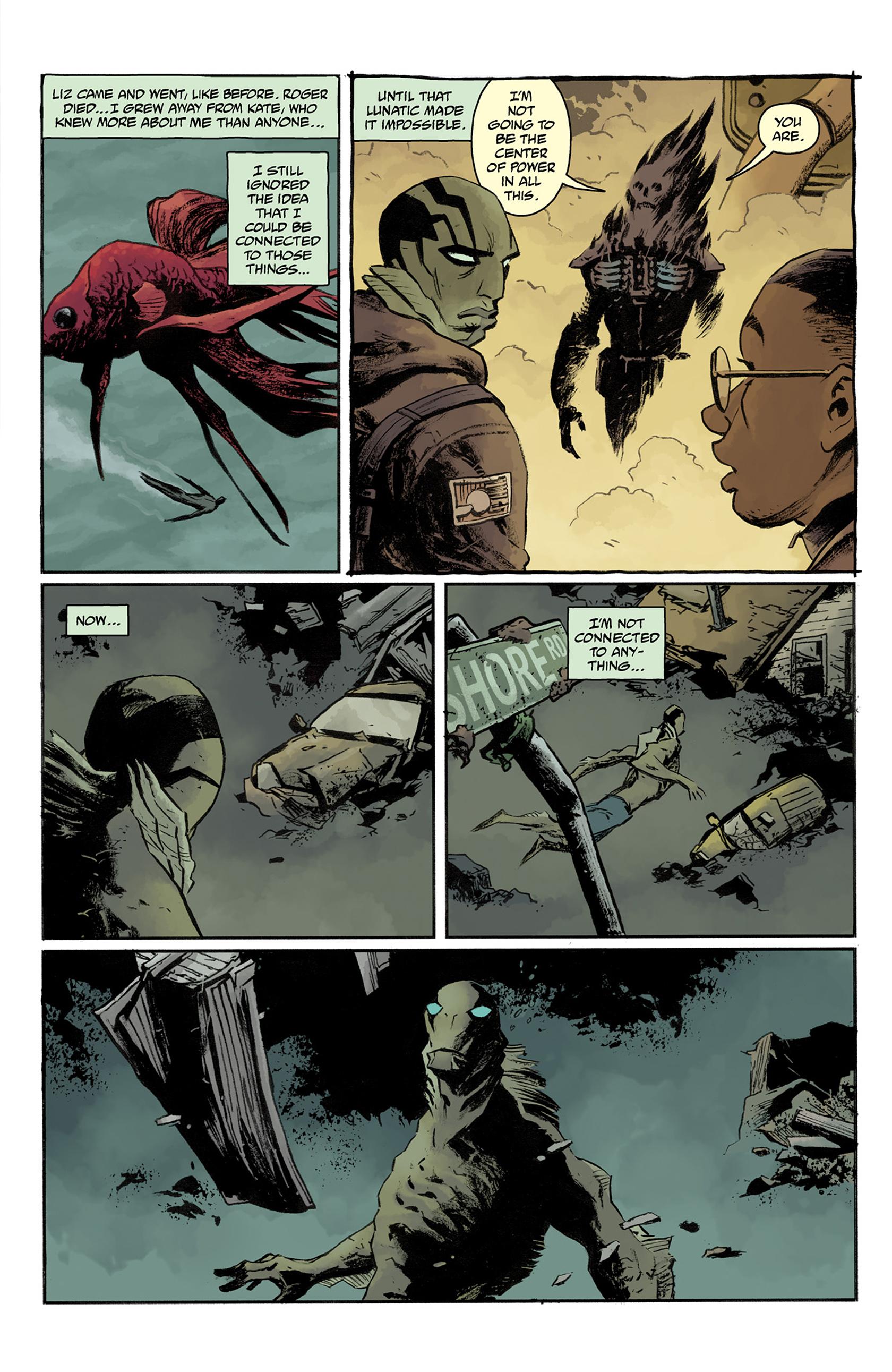 Read online Abe Sapien comic -  Issue #24 - 7