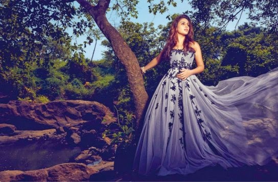 Huma Qureshi PhotoShoot for Filmfare April 2015 Issue