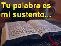 La palabra de Dios limpia el corazón.