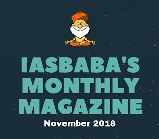 IASbaba Current Affairs November 2018 - Download pdf