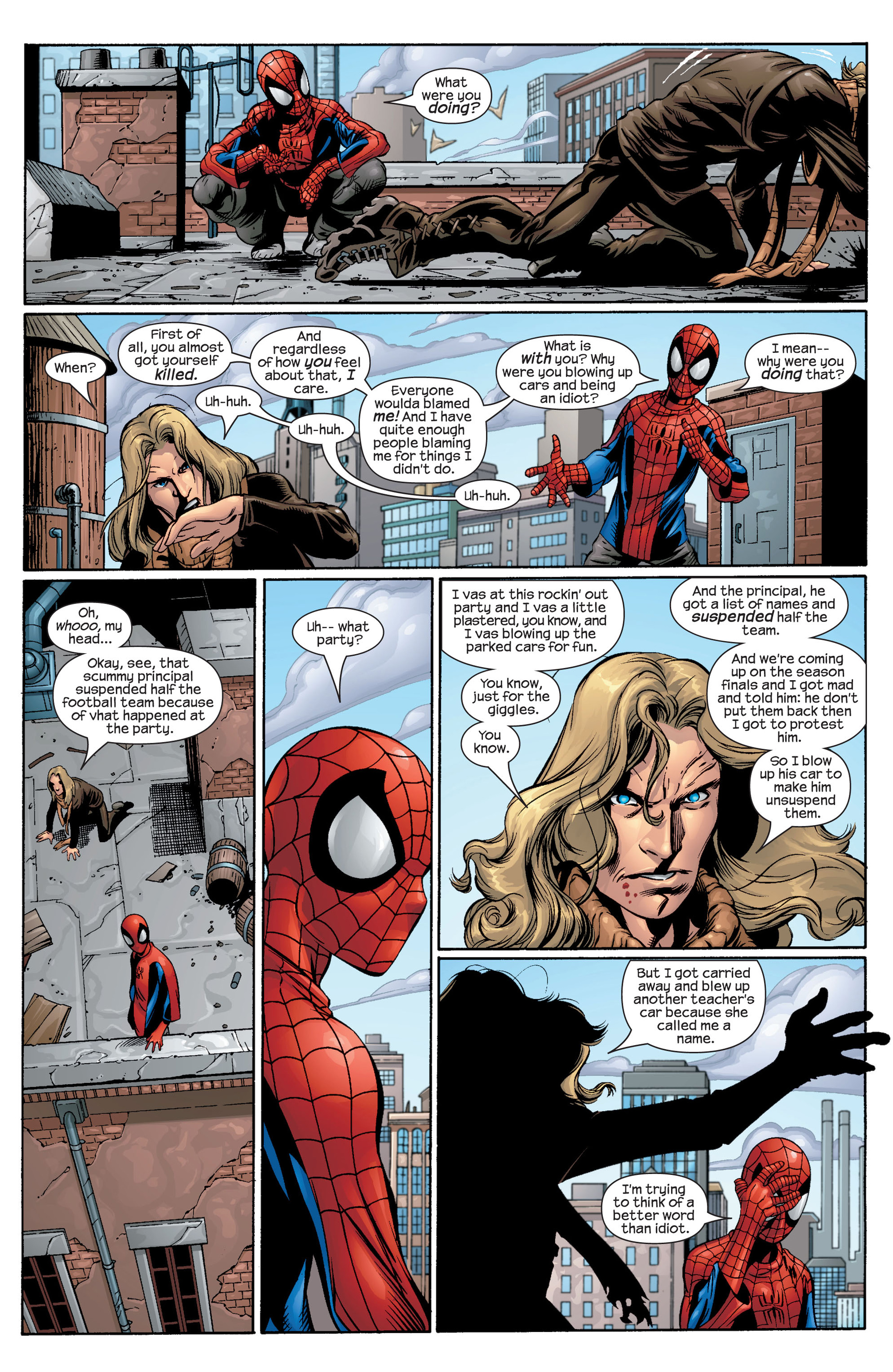 Read online Ultimate Spider-Man (2000) comic -  Issue #42 - 9