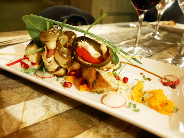 aubergines at Mediterraneo, Italian restaurant Brighton
