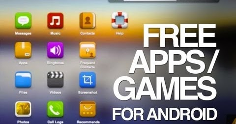 free mobile games apps