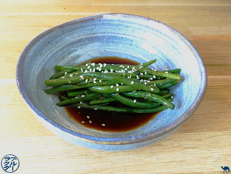 Le Chameau Bleu - Recette de haricots verts sauce Teriyaki