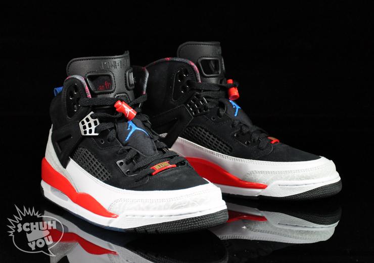 official photos fca18 35030 Jordan Spizike - Black New Blue White Infrared (Mens)