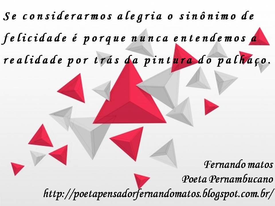 pensamentos do poeta pernambucano fernando matos pintura de palhaço
