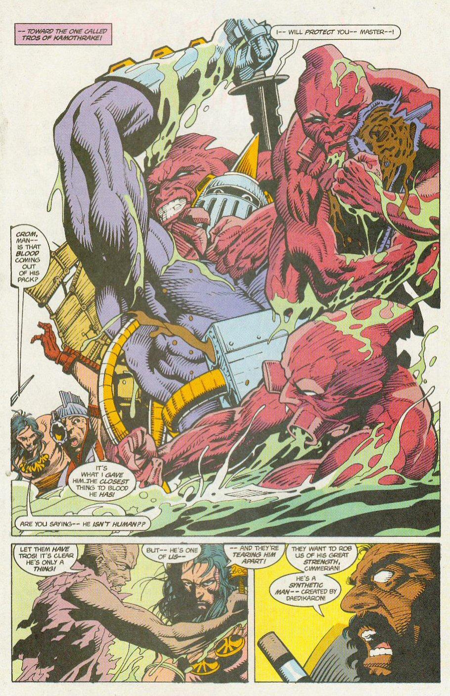 Read online Conan the Adventurer comic -  Issue #13 - 17