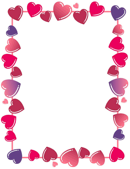 Bordes decorativos bordes decorativos de corazones para for Paginas decoracion online