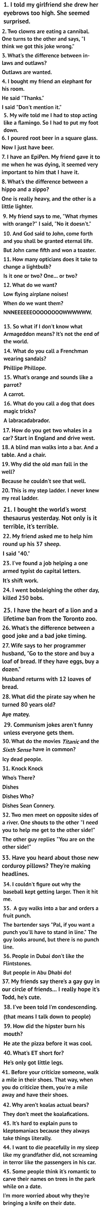 45 Worst Jokes Ever Picture Collection